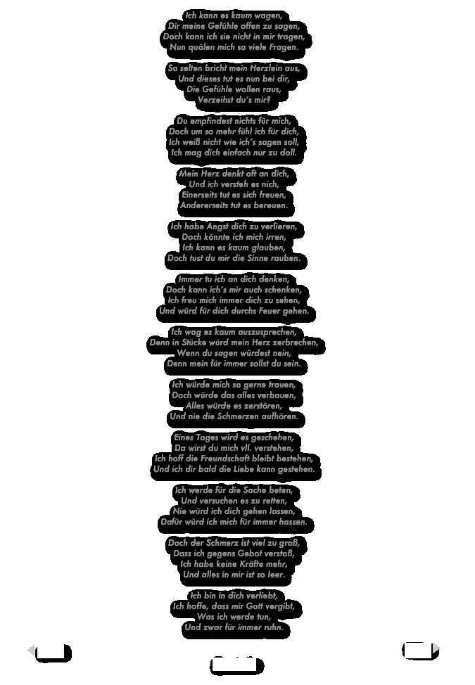 Gedicht Liebe Tu So Weh